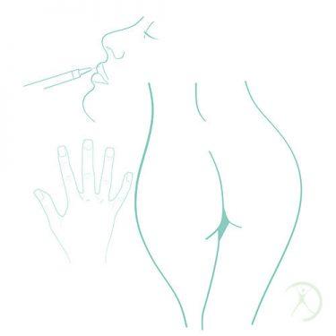 Ilustração: Preenchimentos - Contorno Corporal - Cirurgia Estética - Autor: Dr. Fernando Rodrigues