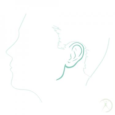 Ilustração: Redução das orelhas - Contorno Facial - Cirurgia Estética - Autor: Dr. Fernando Rodrigues
