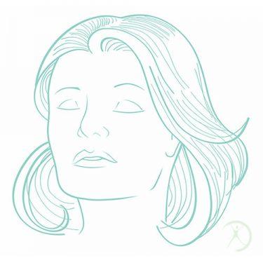 Ilustração: Rejuvenescimento da Face - Contorno Facial - Cirurgia Estética - Autor: Dr. Fernando Rodrigues