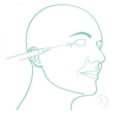 Ilustração: Toxina Botulínica - Procedimentos Cirurgicos - Procedimentos em Ambulátório - Autor: Dr. Fernando Rodrigues