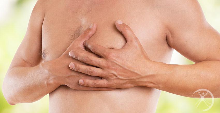 Redução das mamas masculinas
