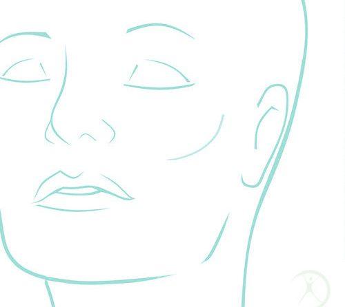 Ilustração: Redução das Bochechas Bichectomia – Contorno Facial – Cirurgia Estética – Dr. Fernando Rodrigues – Cirurgião Plástico BH